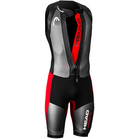 Head Swimrun MyBoost Wetsuit Heren, black-silver-red